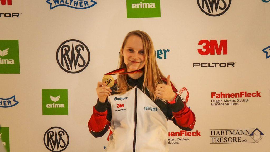 Larissa Weindorf Luftgewehr